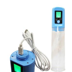 LCD penis pump