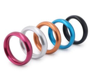 Sex Toy For Boys Aluminium Alloy Cock Ring