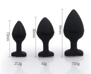 rubber anal plug