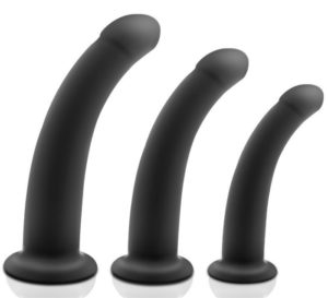 Silicone anal plug sex toy