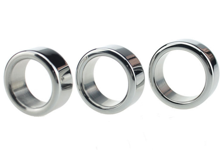 Three-size Metal Cock Ring Men Sex Product