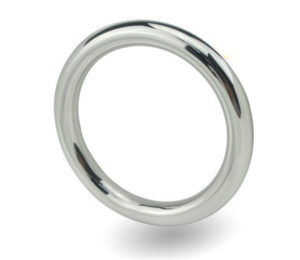 China Stainless Steel Cock Ring Penis Ring Sex Toy