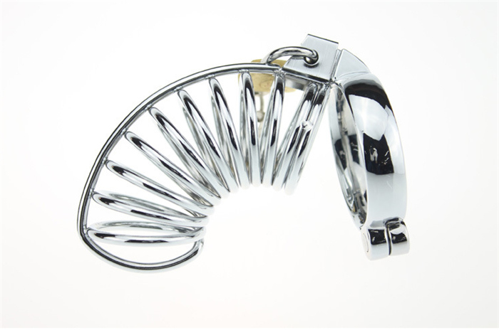 Stainless Steel Chastity Cock Cage Sex Toy