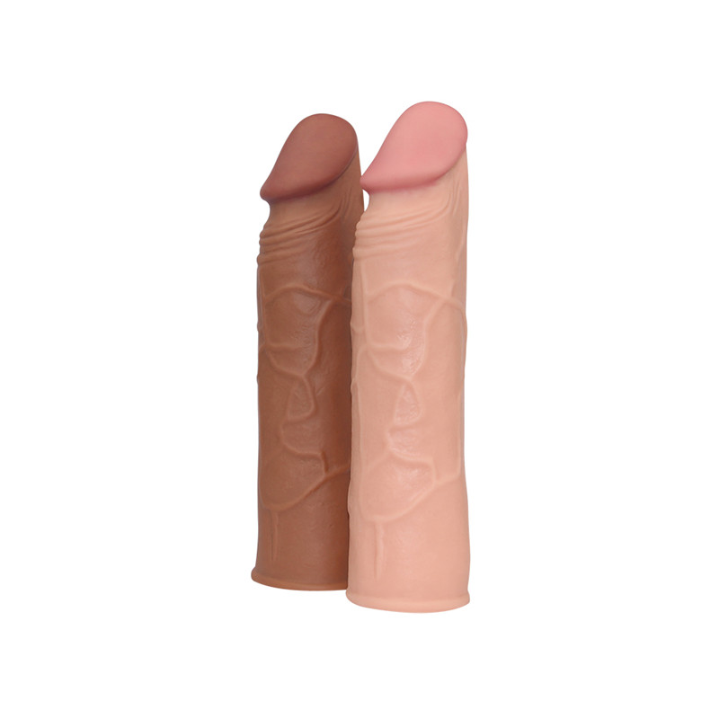 Soft Silicone Penis Sleeve Sex Toy For Men