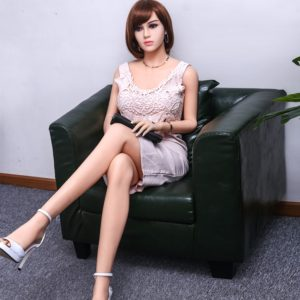 Hot Body Adult Sex Toy Doll of Short-Haired Girl